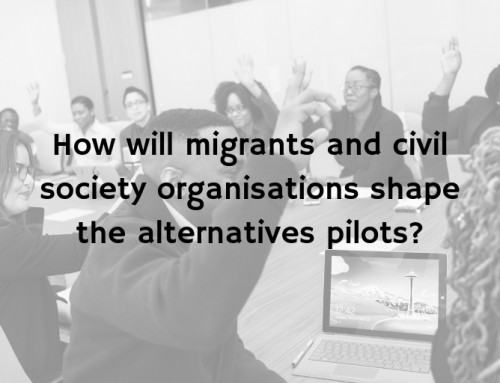 How will migrants and civil society organisations shape the alternatives pilots? ATD blog series
