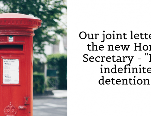 "A joint letter to the new Home Secretary – ""the system need to change now"""