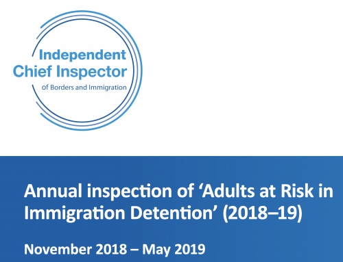 Report on Adults at Risk in Immigration Detention