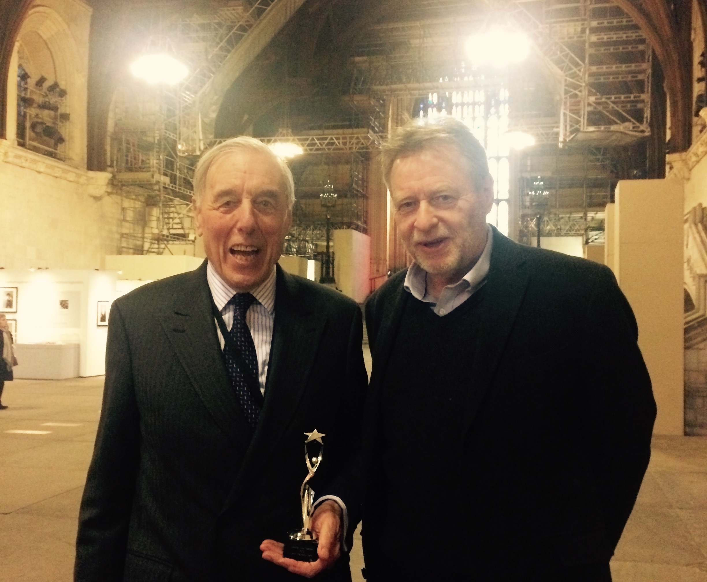 Lord Ramsbotham named as fifth 'Detention Forum Champion'