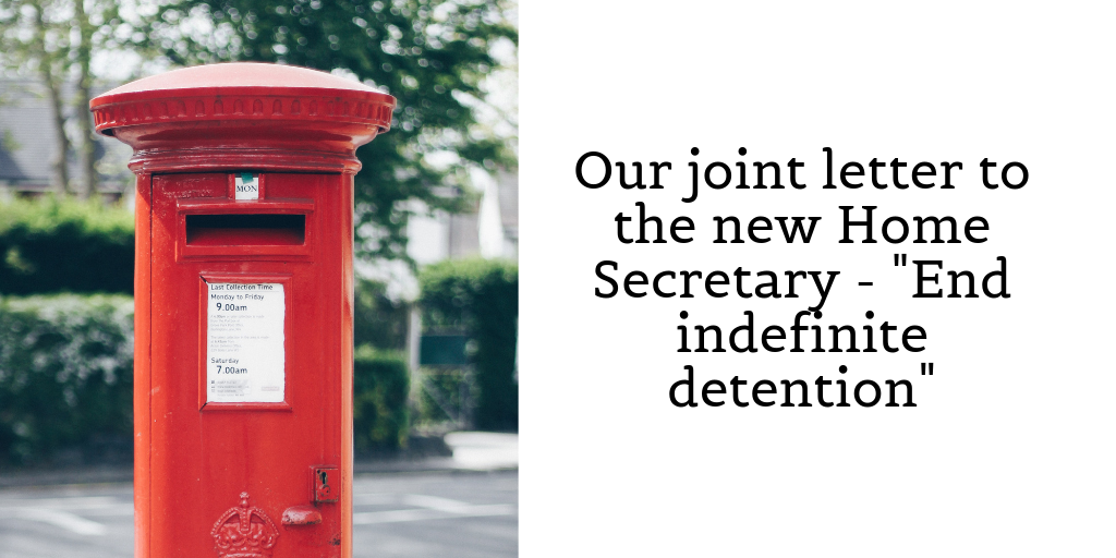 A Joint Letter To The New Home Secretary System Need