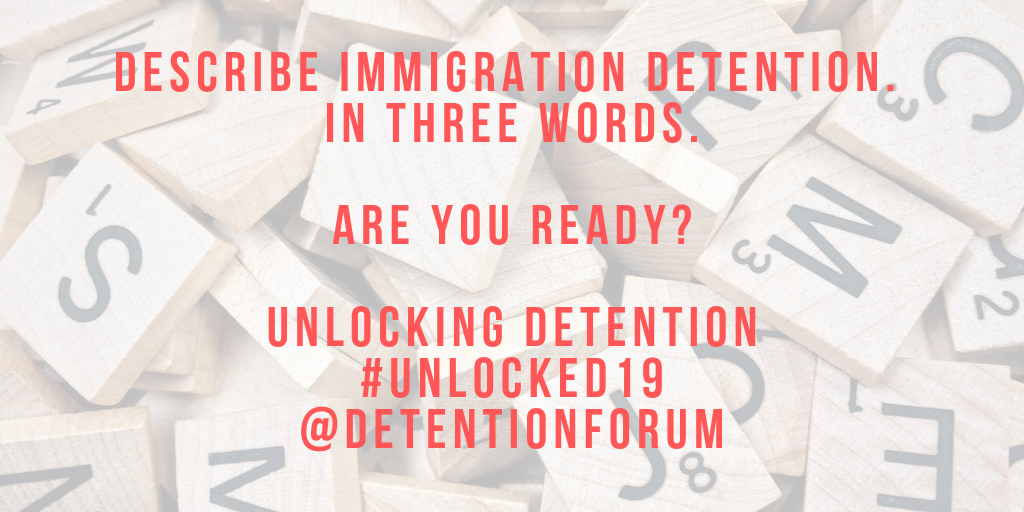 'In Three Words' – Unlocking Detention